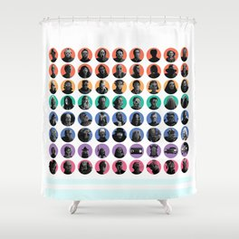Oh, the Horror! Shower Curtain
