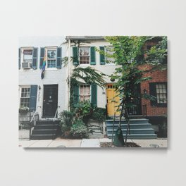When in Charm City Metal Print