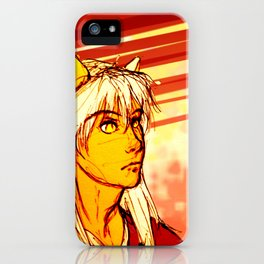 Demon Eyes iPhone Case