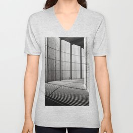 Chapel of Reconciliation in Berlin - duplex Unisex V-Neck
