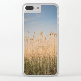Nantucket Gold Clear iPhone Case