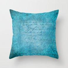 FLORAL DESIGN II Throw Pillow