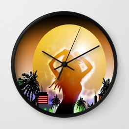 Balearic House Wall Clock