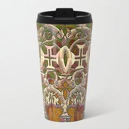 Batalha gothic tracery Travel Mug