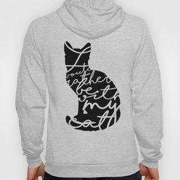 Rather Be With My Cat Hoody