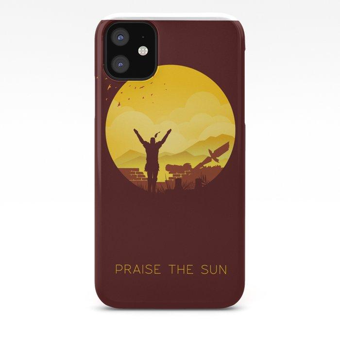 Praise the sun Dark Souls iphone case