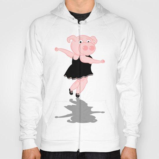Pig Ballerina Hoody