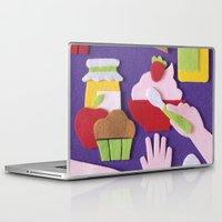 breakfast Laptop & iPad Skins featuring Breakfast by Jacopo Rosati