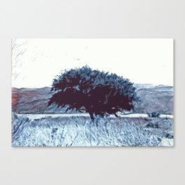 Arbol Canvas Print