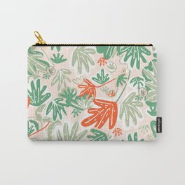 Tropical Abstract Pattern Carry-All Pouch