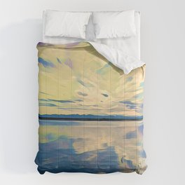 The Sky in the Water Comforters