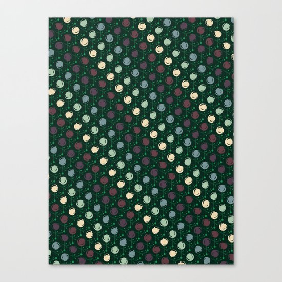 Forest Pattern Canvas Print