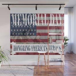 Memorial Day Wall Mural