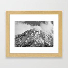 Snowy Alaskan Mountain - 2 Framed Art Print