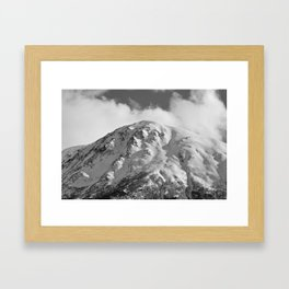 Snowy Alaskan Mountain - 2 Framed Art Print