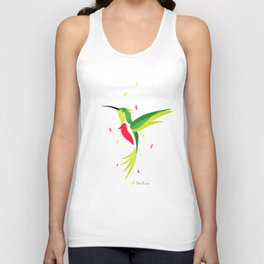 Hummingbird 2 Unisex Tank Top
