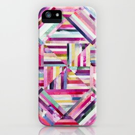 LINEA 040 Abstract Collage iPhone Case