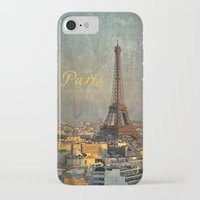 fitzgerald iPhone & iPod Cases featuring I love Paris by inourgardentoo