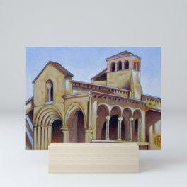 Postcard from Iglesia de la Trinidad, Segovia, Spain Mini Art Print