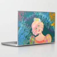 teacher Laptop & iPad Skins featuring Juliana by Ind Alonso