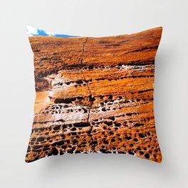 Moab Sandstone Throw Pillow