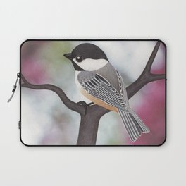 Wiley the black-capped chickadee Laptop Sleeve
