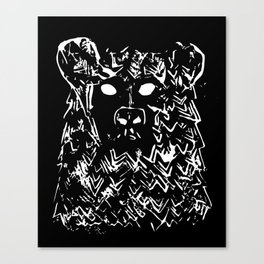 Bear With It Canvas Print
