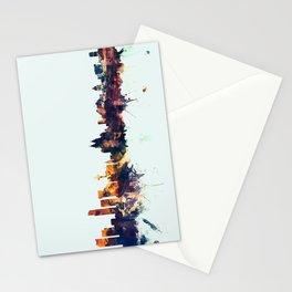 Liverpool England Skyline Stationery Cards