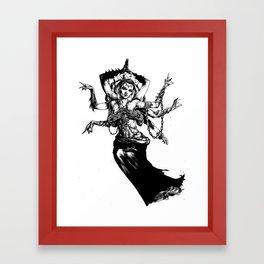 Goddess - Kali Framed Art Print