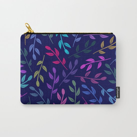 Colorful Leaves VI Carry-All Pouch