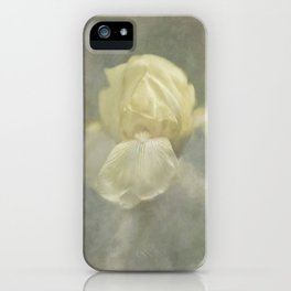 Pale Misty Iris iPhone Case