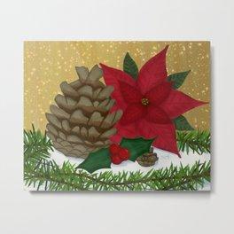 Christmas Nature Metal Print