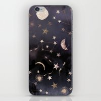 stars iPhone & iPod Skins featuring Constellations  by Nikkistrange