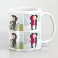sterek Mugs featuring Sterek kisses by agartaart