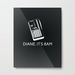 DIANE Metal Print