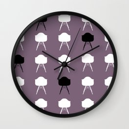 Eames on Eames Wall Clock