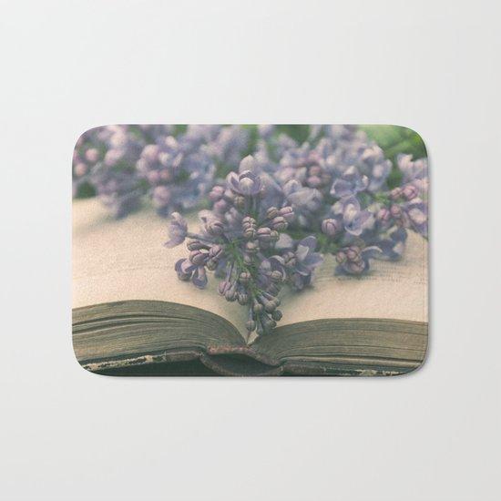 Book of LOVE - Lilacs Syringa Bath Mat