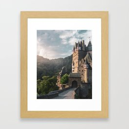 Sunrise At Castle Eltz, Germany Framed Art Print