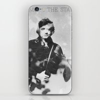 johnny cash iPhone & iPod Skins featuring johnny cash by monicamarcov