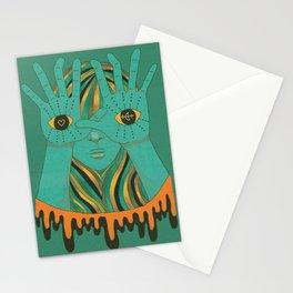 eyes of gypsy  Stationery Cards