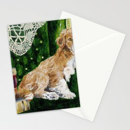 Sir Beckett, Dog With An Education Stationery Cards