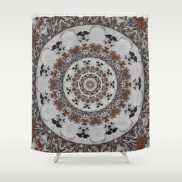 Stone Ridge Kaleidoscope Shower Curtain