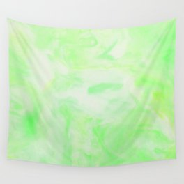 Neon Green Marble Wall Tapestry