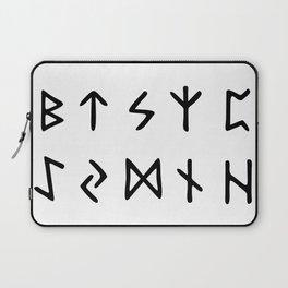 Viking Runes Laptop Sleeve