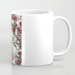 Skulls and Roses or Les Fleurs du Mal Coffee Mug