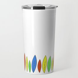 Leaves of color Travel Mug