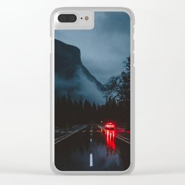 Yosemite Valley Gothic Clear iPhone Case