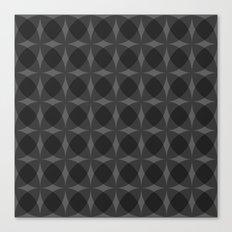 denuti (black) Canvas Print
