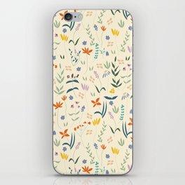 Retro Botanical iPhone Skin