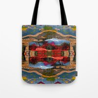 china Tote Bags featuring China. by Grant Pearce